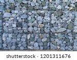texture of gabion fences  wire... | Shutterstock . vector #1201311676
