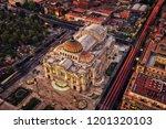 palacio de bellas artes mexico... | Shutterstock . vector #1201320103