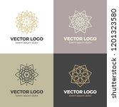 vector logo design template set ... | Shutterstock .eps vector #1201323580