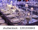 wedding day event organization... | Shutterstock . vector #1201333843