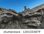 strange  otherworldly geologic... | Shutterstock . vector #1201333879