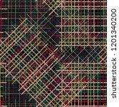 seamless pattern patchwork... | Shutterstock . vector #1201340200