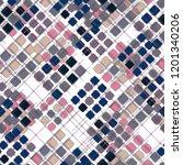 seamless pattern retro design.... | Shutterstock . vector #1201340206