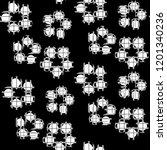 seamless pattern retro design.... | Shutterstock . vector #1201340236