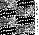 seamless pattern patchwork...   Shutterstock . vector #1201340290