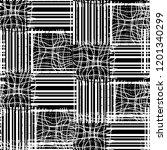 seamless pattern patchwork... | Shutterstock . vector #1201340299