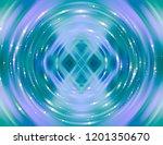 abstract background blue light... | Shutterstock . vector #1201350670