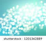 beautiful blue gradient teal... | Shutterstock .eps vector #1201362889