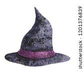helluin set. witch  witchcraft  ... | Shutterstock . vector #1201376839
