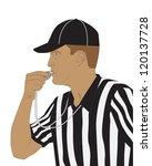 football referee | Shutterstock .eps vector #120137728