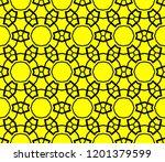 modern seamless geometric... | Shutterstock .eps vector #1201379599