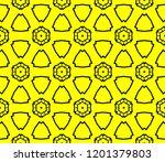 modern seamless geometric... | Shutterstock .eps vector #1201379803
