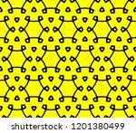 modern seamless geometric... | Shutterstock .eps vector #1201380499