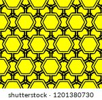 modern seamless geometric... | Shutterstock .eps vector #1201380730