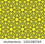 modern seamless geometric... | Shutterstock .eps vector #1201380769