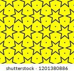 modern seamless geometric... | Shutterstock .eps vector #1201380886