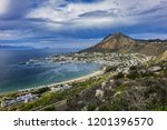 aerial view of simon's town and ... | Shutterstock . vector #1201396570