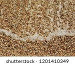 colorful pebbles texture  sea... | Shutterstock . vector #1201410349