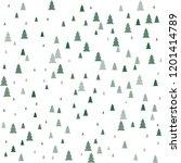 Christmas Trees Seamless...