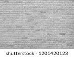 gray brick background | Shutterstock . vector #1201420123