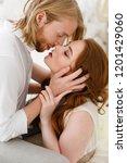 outspoken lovestory. date for...   Shutterstock . vector #1201429060