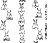 print with moth.   Shutterstock .eps vector #1201458409