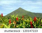 Arenal Volcano In Costa Rica...