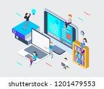 e book graphic design | Shutterstock .eps vector #1201479553