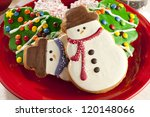 Festive Christmas Cookie In The ...