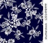 abstract elegance seamless... | Shutterstock .eps vector #1201498999