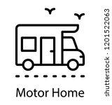a road transport bus  school or ... | Shutterstock .eps vector #1201522063