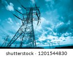 Electric Tower  Silhouette At ...