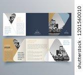 brochure design  brochure... | Shutterstock .eps vector #1201560010