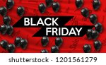 black friday. banner for your... | Shutterstock .eps vector #1201561279