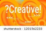 fluid shapes. liquid neon... | Shutterstock .eps vector #1201562233