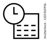 schedule icon vector