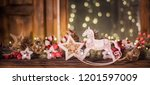 christmas and new year holidays ... | Shutterstock . vector #1201597009
