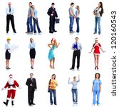 group of workers people set.... | Shutterstock . vector #120160543