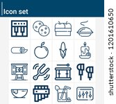 contains such icons as mulled... | Shutterstock .eps vector #1201610650