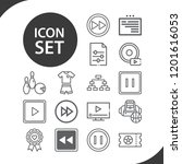 contains such icons as web ... | Shutterstock .eps vector #1201616053