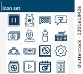 contains such icons as bottle ... | Shutterstock .eps vector #1201618426