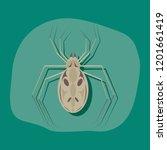 paper sticker on stylish...   Shutterstock .eps vector #1201661419