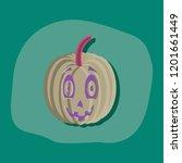 paper sticker on stylish...   Shutterstock .eps vector #1201661449