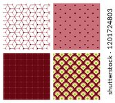 minimal covers design. colorful ... | Shutterstock .eps vector #1201724803