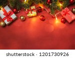 christmas and new year holidays ... | Shutterstock . vector #1201730926