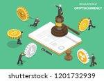 isometric flat concept of... | Shutterstock . vector #1201732939