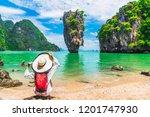 stunning amazed nature scenic...   Shutterstock . vector #1201747930