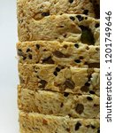 healthy delicious homemade... | Shutterstock . vector #1201749646