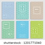 collection of sale banners ... | Shutterstock .eps vector #1201771060