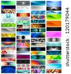 mega banner set  vector designs ... | Shutterstock .eps vector #120179044